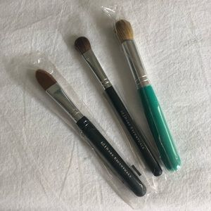 NEW Bare Essentials bareMinerals 3 Makeup Brushes